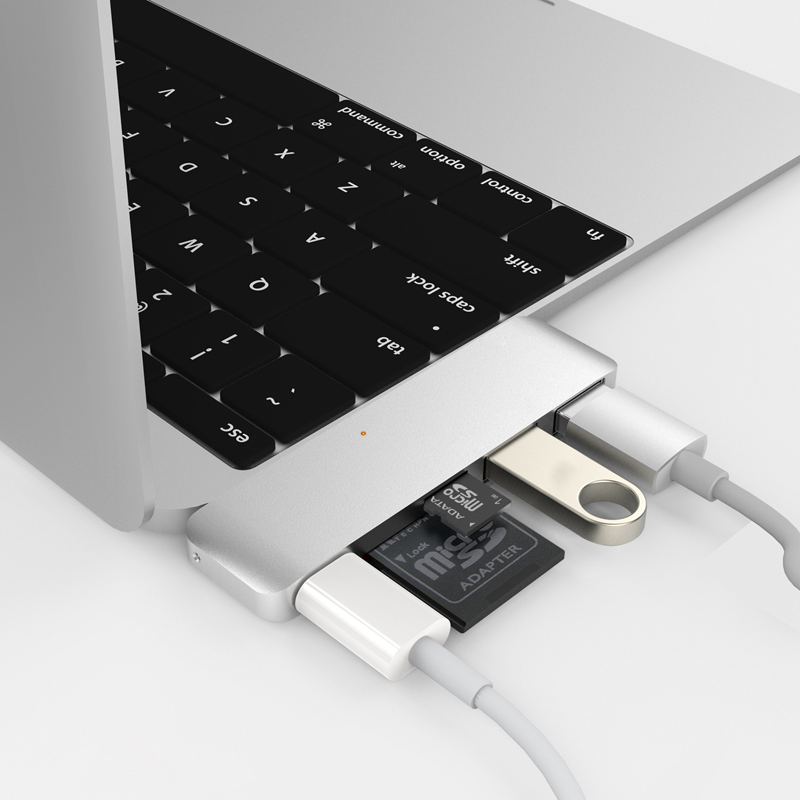 Hyper++ USB Type-C 5 in 1 Hub - シルバー